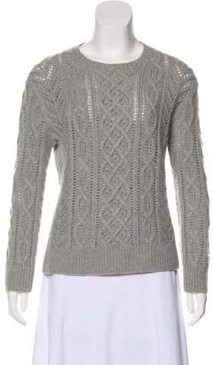 Michael Kors Cable Knit Cashmere Sweater