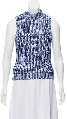 Alice + Olivia Sleeveless Knit Sweater