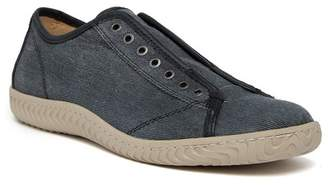 John Varvatos Collection Laceless Low Top Denim Sneaker