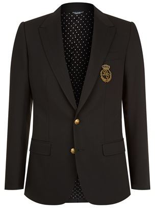 Crest Pocket Martini Jacket