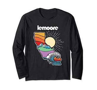 Lemoore California Outdoors Retro Nature Graphic Long Sleeve T-Shirt