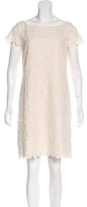 RED Valentino Crochet Lace Mini Dress
