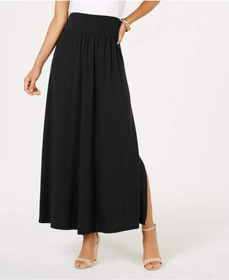 Style&Co. Style & Co Side-Slit Maxi Skirt