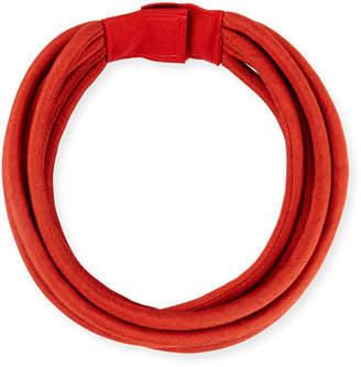 Grazia And Marica Vozza Multi-String Silk Cord, Red