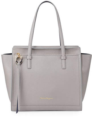 16db9a6ce491 Salvatore Ferragamo Blue Top Handle Handbags - ShopStyle
