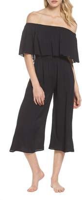 Elan International Off the Shoulder Cover-Up Jumpsuit