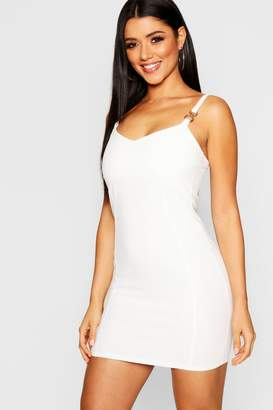 boohoo Strap Detail Bodycon Dress