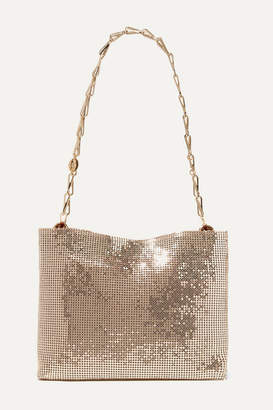 Paco Rabanne Pixel 1969 Chainmail Shoulder Bag - Gold