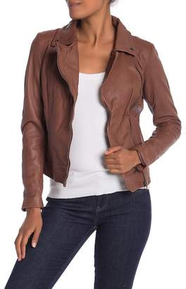 Muu Baa Muubaa Sabik Goat Leather Biker Jacket