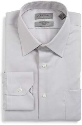 John W. Nordstrom Classic Fit Herringbone Dress Shirt