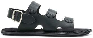 Ann Demeulemeester triple-strap flat sandals