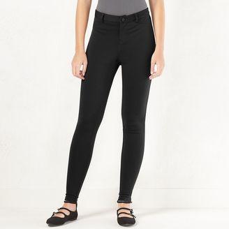 Women's LC Lauren Conrad Knit Skinny Pants $44 thestylecure.com
