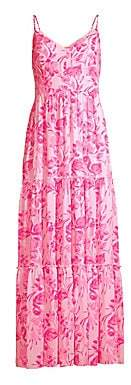 Lilly Pulitzer Women's Melody Floral Maxi Dress - Size 0