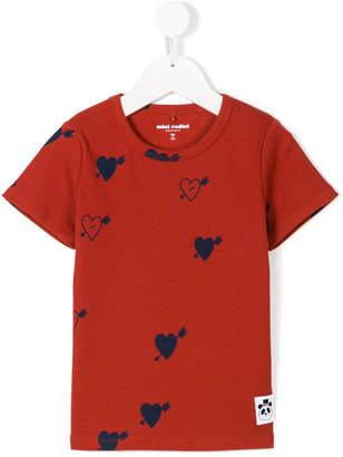 Mini Rodini hearts print T-shirt