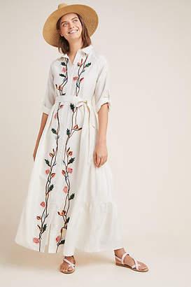 Samant Chauhan Embroidered Shirtdress