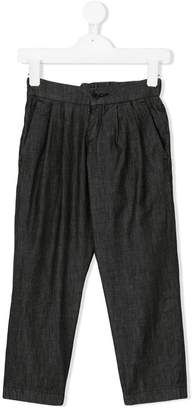 Paolo Pecora Kids classic pleated trousers