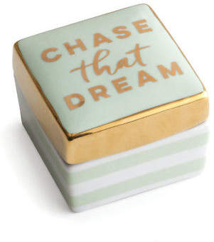 Rosanna NEW Charm School Chase That Dream Trinket Box