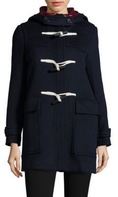Burberry Bayfield Authentic 3-in-1 Duffle Coat $2,195 thestylecure.com