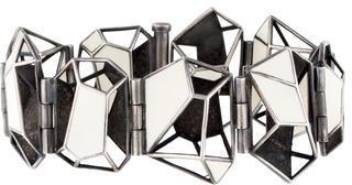 Bottega VenetaBottega Veneta Enamel Geometric Bracelet