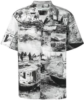 Off-White lake print shirt