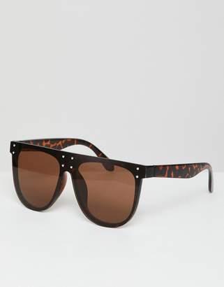 A. J. Morgan AJ Morgan aviator sunglasses in tort