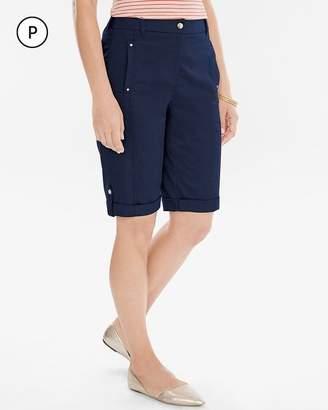 Comfort Waist Utility Shorts- 10 Inch Inseam