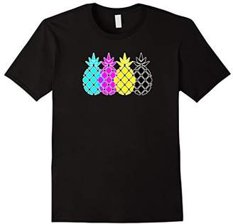 Tropical Pineapple in CMYK Color Model T-Shirt