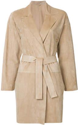 Sylvie Schimmel single breasted boyfriend coat