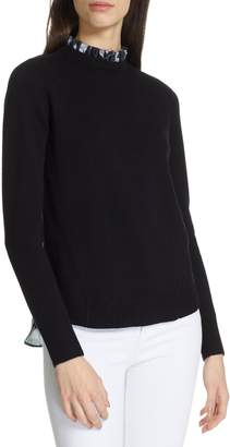 Ted Baker Toliena Narrnia Mix Media Sweater