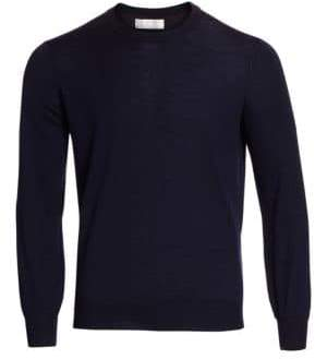 Brunello Cucinelli Crewneck Elbow Patch Sweater