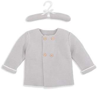 Elegant Baby Unisex Sofia & Finn Double-Breasted Cardigan - Baby