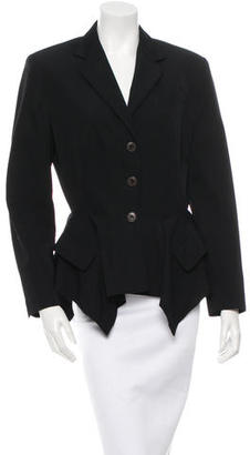 Jean Paul Gaultier Wool Button-Up Blazer $95 thestylecure.com