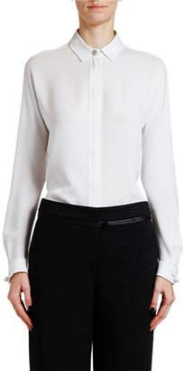 Giorgio Armani Silk Button-Front Shirt