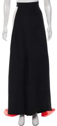 Roksanda Colorblock Maxi Skirt Black Colorblock Maxi Skirt