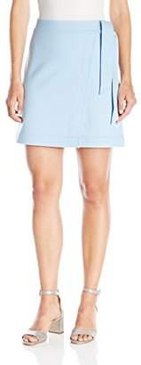 Paris Sunday Women's Ponte Wrap Skirt