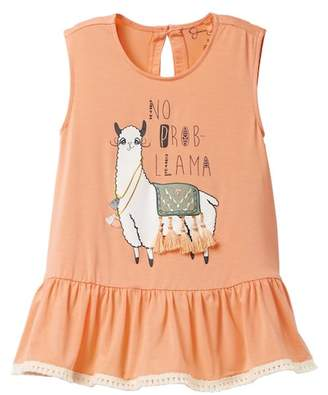 Jessica Simpson Llama Top (Toddler & Little Girls)
