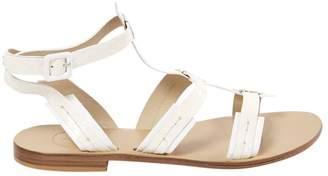 Aperlaï Python Sandals