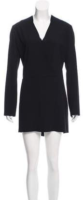 IRO V-Neck Long Sleeve Dress