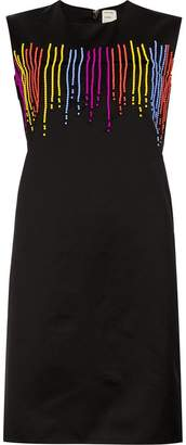 Maison Rabih Kayrouz beaded shift dress