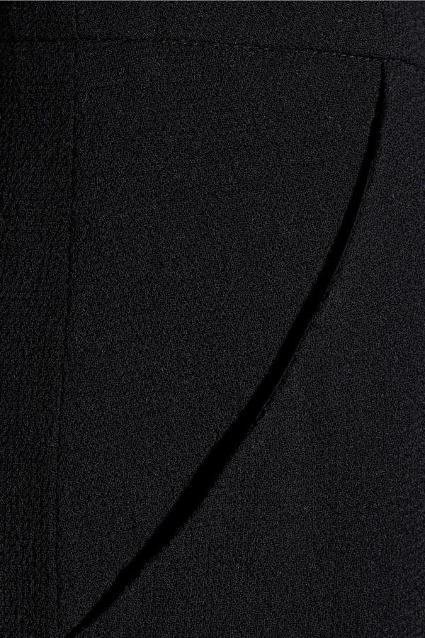 Oscar de la Renta Wool-crepe wide-leg pants