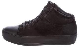 Acne Studios Cleo High-Top Sneakers