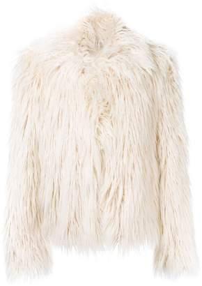 Faith Connexion faux fur jacket
