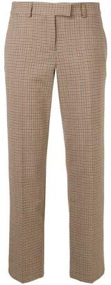 A.P.C. Cece checked crop trousers