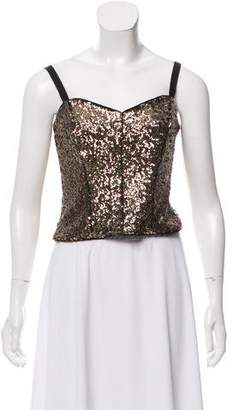Milly Sequin Crop Top w/ Tags