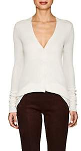 The Row Women's Lana Silk Jersey Cardigan-Ecru
