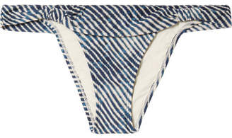 Vix Corales Bia Printed Bikini Briefs - Blue