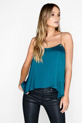Girls On Film Outlet Emerald Top
