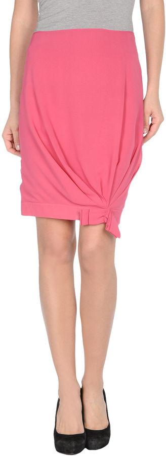 John Galliano Knee length skirts
