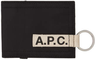 A.P.C. Black Lucky Card Holder