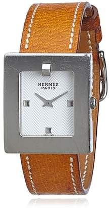 Hermes Vintage Be1.210 Leather Watch